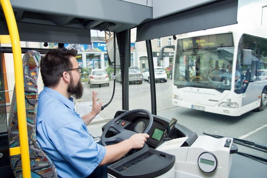 Autobús en Ámsterdam