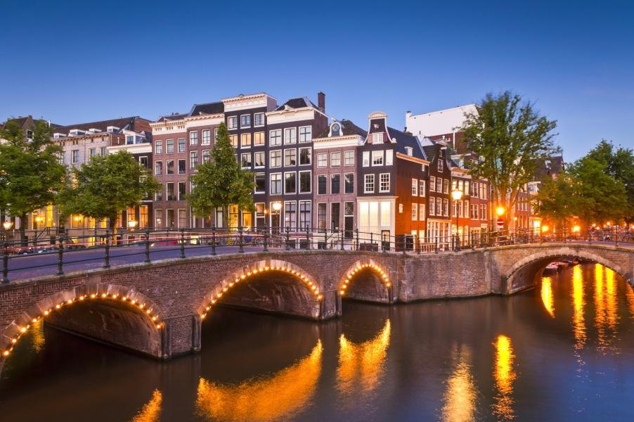 Visita privada a pie por Ámsterdam