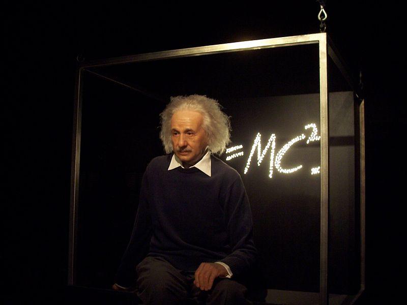 Einstein en el Madame Tussaud's
