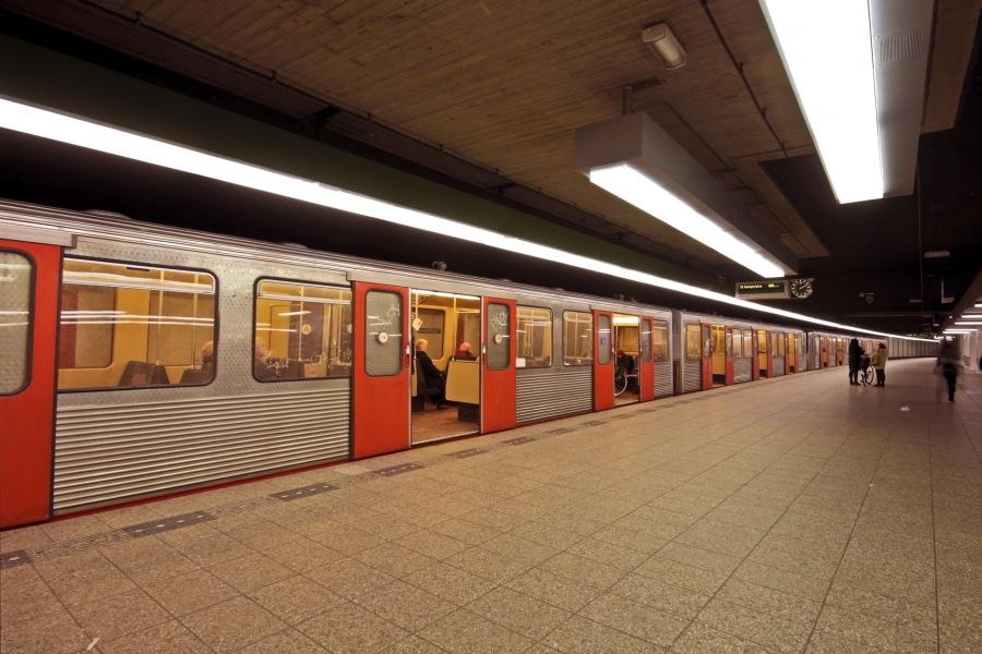 Metro en Ámsterdam
