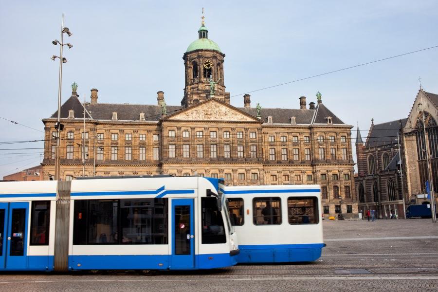 Tranportes públicos en Ámsterdam