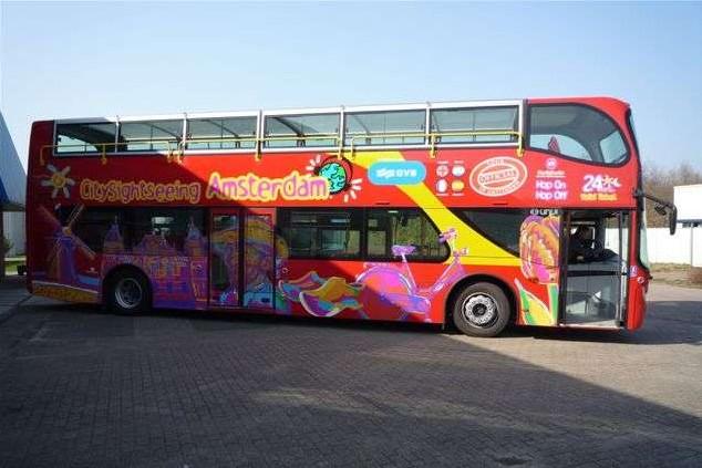 Bus turístico de Ámsterdam