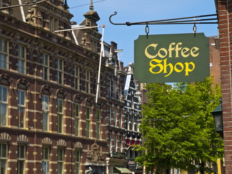 Coffee Shop en Ámsterdam