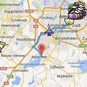 Situación de Aalsmeer