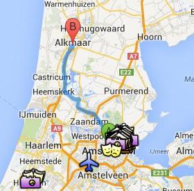Situación de Alkmaar