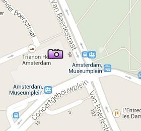 Situación de Concertgebouw en el Mapa Interactivo de Ámsterdam