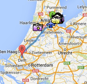 Situación de Delft