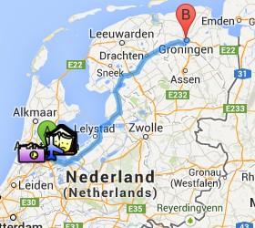 Situación de Groningen