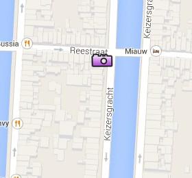 Situación del Groote Keijser en el Mapa Interactivo de Ámsterdam