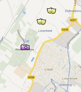 Situación de los Jardines Keukenhof en el Mapa Interactivo