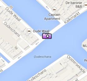 Situación de la Montelbaanstoren en el Mapa Interactivo de Ámsterdam