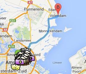 Situación de Volendam