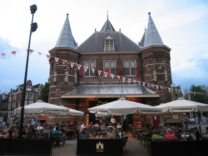 Plaza del Nieuwmarkt